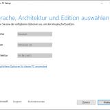 Detaillierte Windows Angaben