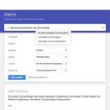 Google Alert Häufigkeit