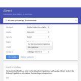 Google Alert welche Ergebnisse